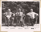 view Churchill, Truman and Stalin at Potsdam digital asset number 1