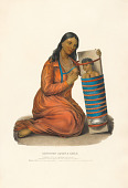 view Chippeway Squaw and Child digital asset number 1