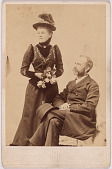view Mr. & Mrs. William George Linen (Hortense De B. Schuyler) digital asset number 1