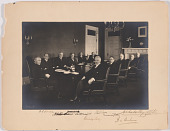view Woodrow Wilson and his Cabinet digital asset number 1