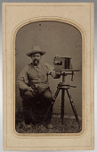 view Unidentified photographer in field digital asset number 1