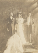 view Theodore Roosevelt, Alice Roosevelt Longworth and Nicholas Longworth digital asset number 1