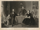 view Abraham Lincoln and Family digital asset number 1