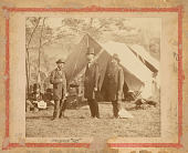 view Abraham Lincoln, John McClernand and Allan Pinkerton digital asset number 1