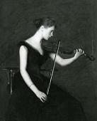 view The Violinist digital asset number 1