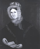 view Woman with Black Paisley Shawl digital asset number 1