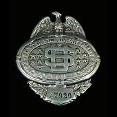 view RMS clerk chest badge, number 47020 digital asset number 1