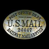 view RMS clerk cap badge, number 24447 digital asset number 1