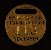 view Trainmen's House Owney tag digital asset number 1