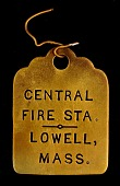 view Central Fire Station Owney tag digital asset number 1
