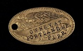 view Portland, Maine Owney tag digital asset number 1