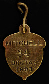 view Mitchell, South Dakota Owney tag digital asset number 1