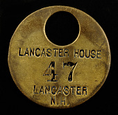 view Lancaster House Owney tag digital asset number 1