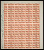 "view 2c National Parks Grand Canyon original ""Farley's Follies"" uncut press sheet digital asset number 1"