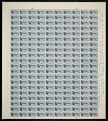 "view 6c National Parks Crater Lake original ""Farley's Follies"" uncut press sheet digital asset number 1"
