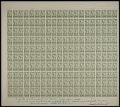 """view 8c National Parks Zion original """"Farley's Follies"""" uncut press sheet of 200 digital asset number 1"""