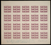 "view 3c American Philatelic Society original ""Farley's Follies"" uncut press sheet digital asset number 1"