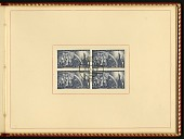 view Block of cancelled stamps in presentation album from Poland digital asset number 1