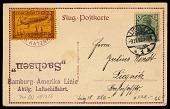 view Sachsen 1913 Liegnitz-Dresden Flight postal card digital asset number 1