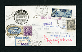 view Los Angeles-Mexico City-Newark flight cover signed by Amelia Earhart digital asset number 1