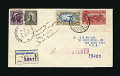 view Mexico-New York flight cover signed by Amelia Earhart digital asset number 1