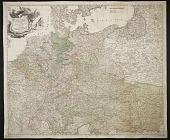view Postal map of German region digital asset number 1