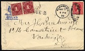 view Postage due cover digital asset number 1