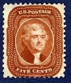 view 5c Thomas Jefferson reprint single digital asset number 1