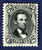 view 15c Abraham Lincoln single digital asset number 1