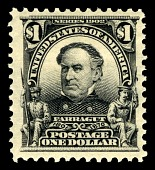 view $1 David G. Farragut single digital asset number 1