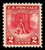 view 2c Valley Forge Sesquicentenary Washington at prayer single digital asset number 1