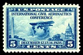 view 5c Civil Aeronautics Conference Globe and Airplane single digital asset number 1