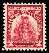 view 2c Sullivan Expedition Sesquicentenary Major General John Sullivan single digital asset number 1