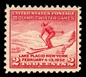 view 2c Olympic Winter Games skier single digital asset number 1