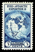 view 3c Byrd Antarctic Expedition II map of the world single digital asset number 1