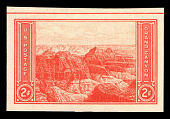 view 2c Grand Canyon Farley special printing imperforate single digital asset number 1