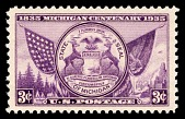 view 3c Michigan Centenary state seal single digital asset number 1