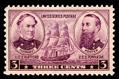 view 3c Navy David G. Farragut and David D. Porter single digital asset number 1