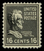 view 16c Abraham Lincoln single digital asset number 1