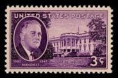 view 3c Roosevelt & White House single digital asset number 1