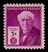 view 3c Thomas A. Edison single digital asset number 1