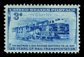 view 3c Baltimore & Ohio Railroad single digital asset number 1
