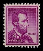 view 4c Abraham Lincoln single digital asset number 1