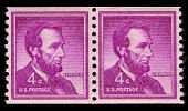 view 4c Abraham Lincoln horizontal coil pair digital asset number 1
