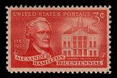 view 3c Alexander Hamilton single digital asset number 1
