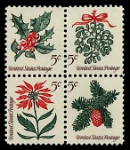 view 5c Christmas Greenery block of four digital asset number 1