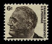 view 6c Franklin D. Roosevelt single digital asset number 1