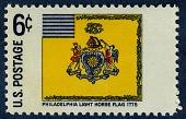 view 6c Philadelphia Light Horse Flag single digital asset number 1