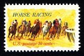 view 10c Horse Racing single digital asset number 1