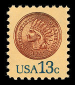 view 13c Indian Head Penny single digital asset number 1